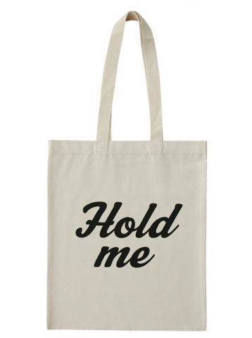 "Alphabet Bags ""Hold Me"""
