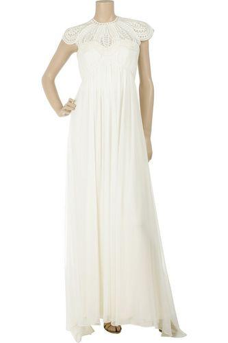 Thurley Silk Collar Gown