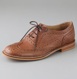 Steven Melin Pinked Perforated Oxfords