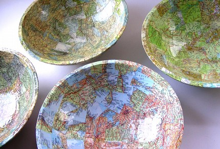 Bespoke Map Dish