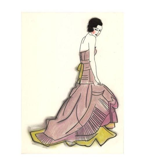 Elizabeth in pink